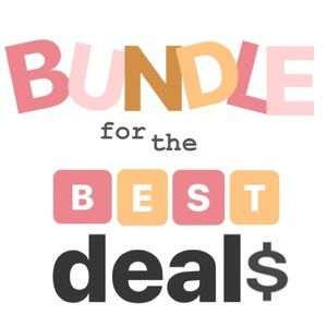 Other - Bundle 2 or more items!!